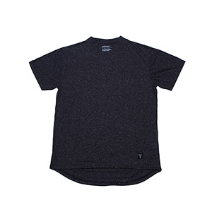 TEXTURE DT TEE CHARCOAL
